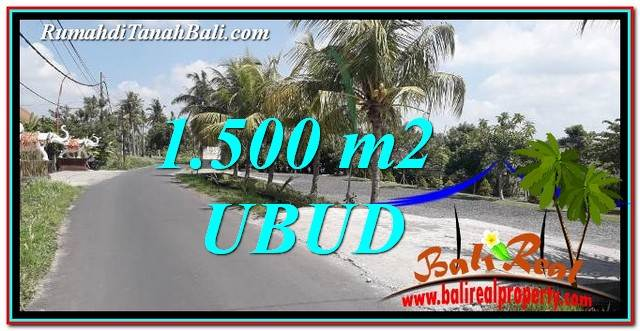 Beautiful Ubud Gianyar 2,400 m2 LAND FOR SALE TJUB758