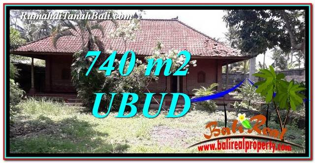 FOR SALE Magnificent 740 m2 LAND IN UBUD BALI TJUB764